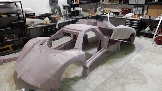 CNC Zhonda R styrofoam plug , amazing car!