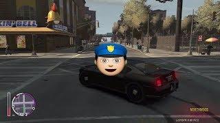 GTA IV:LCPD Mod - حرامي السيارات : مود الشرطة 1# - المباحث