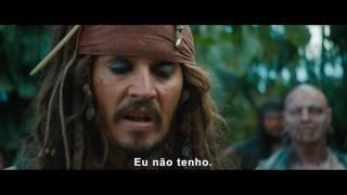 Piratas do Caribe 4 - Trailer Oficial apresentada pelo Capitão Jack Sparrow - Walt Disney Pictures