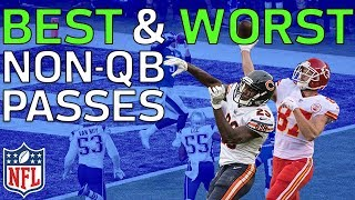 Best Throws & Worst Fails from Non-QB Passes in the 2017 NFL Season | NFL Highlights
