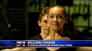 15-year-old Arizona girl wows the ballet world