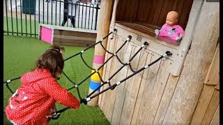 Fun Playground for Kids / Slides and swing /