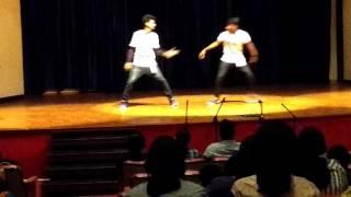 # cmc asha talent show , kavilinayil kunkumamo dance performance