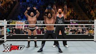 WWE 2K17 FUTURE STARS DLC - THE CLUB TRIO ENTRANCE & VICTORY SCENE!