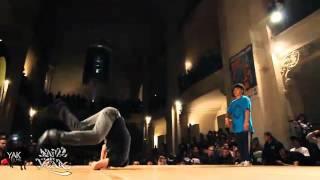 El mejor baile de breakdance
