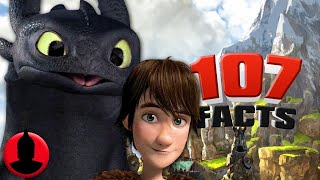 107 How To Train Your Dragon Facts YOU Should Know! - (107 Facts S5 E20) | ChannelFrederator