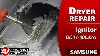 Diagnostic & Repair -  Igniter issues - Samsung Dryer