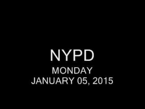 SCANNER AUDIO - 2 NYPD Cops Shot - 01/05/2015