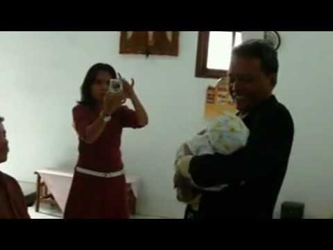 Ibadah Penyerahan Anak Gibrael di GKN Shiloh Rawabadak Selatan, Koja, Jakarta Utara.3gp
