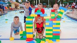 Legoland Hotel & Swimming Pool Tour