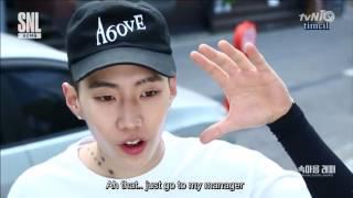 [ENG] AOMG SNL KR Jay Park Diss Cut