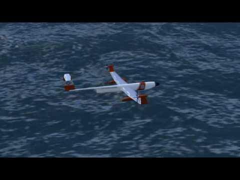 NASA Albatross Dynamic Soaring Open Ocean Persistent Platform UAV Concept