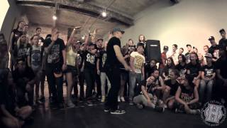 Lil 88 Stones vs Twin B Dash   1/2 MAIN EVENT   HYPE OUT '13