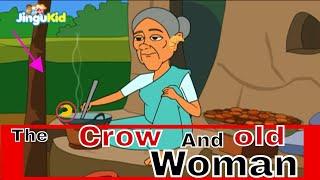 आजीबाईच्या गोष्टी २०१७ | कावळा आणि म्हातारी | Marathi Animation Stories For Kids | Children Stories