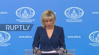 "Russia: Syria must not become ""arena for settling geopolitical disputes"" – Zakharova"