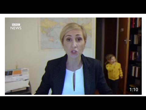 Women interrupted during BBC interview