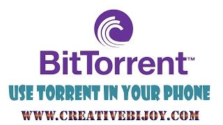 How To Use Torrent In Your Smartphone (Very Fast Download)  #HD Hindi+Urdu