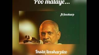 Best tamil love whatsapp status-poo malaye-ilayaraja