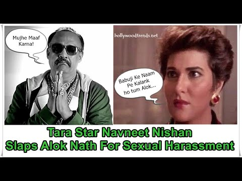 Xxx Mp4 Navneet Nishan SLAPPED Alok Nath For HARASSING Her 3gp Sex