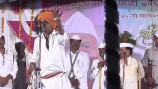 Indurikar Maharaj Kirtan  75th Birthday of Dhembare Guruji Wajegaon  - 18.5.2016