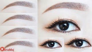 [Hot] วิธีเขียนคิ้วสไตล์สาวเกาหลี - Korean Eyebrow Tutorial
