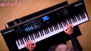 Kraft Music - Kurzweil Forte Stage Piano Performance With Chris Martirano
