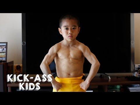 Xxx Mp4 Meet The Mini Bruce Lee KICK ASS KIDS 3gp Sex