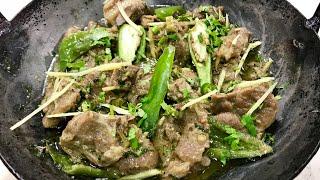 Peshawari namkeen karhai ( sulemani karhai) ( peshawari namkeen gosht) by apna desi khana