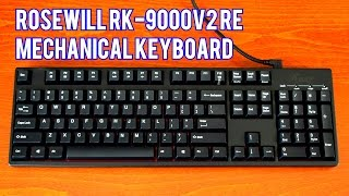 Rosewill RK-9000V2 RE Mechanical Keyboard Review And Sound – Cherry MX Red Switches