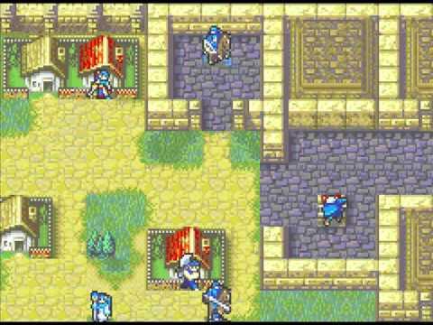 Let's Play Fire Emblem 7 5 - Hombres de Sacae