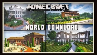 Minecraft: ScarWorld Download And House Tour