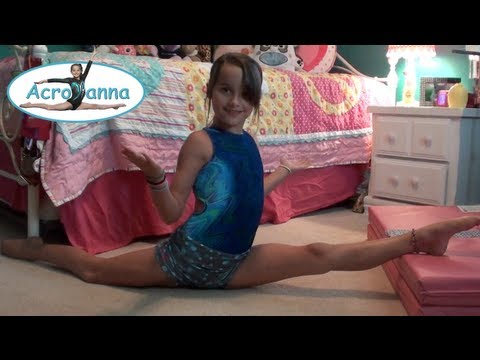 How to do the Splits | Tutorial | Acroanna
