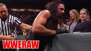 Seth rollins stand up again
