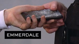 Emmerdale - The Police Now Have Tracy's Smashed Phone