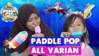 Review All Varian Ice Cream Paddle Pop Octopus Banana Boat ♥ Rasanya Enak Banget