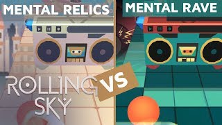 Rolling Sky - Mental Relics Vs Mental Rave (ReSkinned Version) | SHAvibe