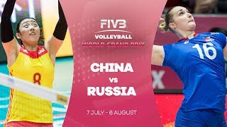China v Russia highlights - FIVB World Grand Prix