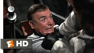 Never Say Never Again (1/10) Movie CLIP - Weight Room Fight (1983) HD