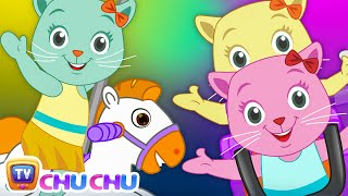 Three Little Kittens Went To The Theme Park (SINGLE) | Nursery Rhymes & Songs by Cutians | ChuChu TV