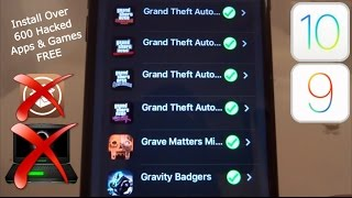 NEW Install Over 600 Hacked Apps & Games FREE iOS 9 / 10 / 11 NO Jailbreak iPhone iPad iPod