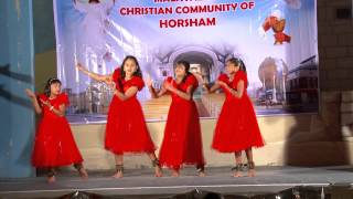 Ente Aduthu Nilkuvan yesu undu    Group Dance by Malayalam Christian Community Horsham