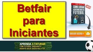 Trader Esportivo -  Betfair para Iniciantes -  Futebol Milionario.mp4