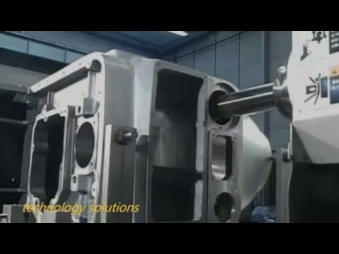 [Technology Video] Horizontal Milling Machine : Planar Milling