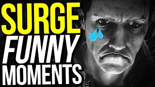 THE RAGE BEGINS! - THE SURGE FUNNY MOMENTS / Episode 1