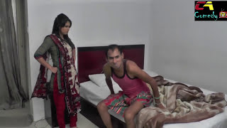 Shahoshi Shami Comedy Skit by Chikon Ali |চিকন আলী যখন সাহসী স্বামী, মজার একটি হাসির ভিডিও