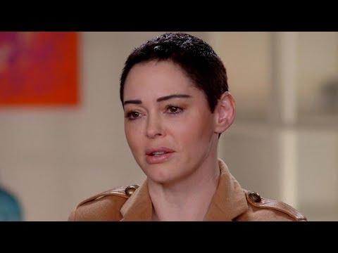Rose McGowan describes alleged rape by Harvey Weinstein Nightline Part 1