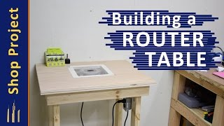 Building a Cheap Basic Router Table