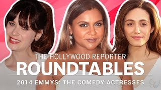 Zooey Deschanel, Mindy Kaling and more Comedy Actresses on THR's Roundtable | Emmys 2014