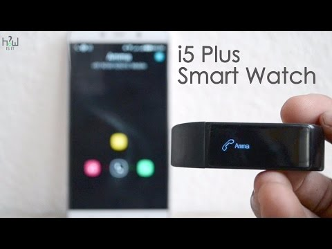 i5 Plus Smart Watch Unboxing & Review - Best Smart Band - just 20$ ?