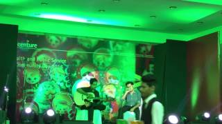 Accenture event - live performance Yatin and Sourav